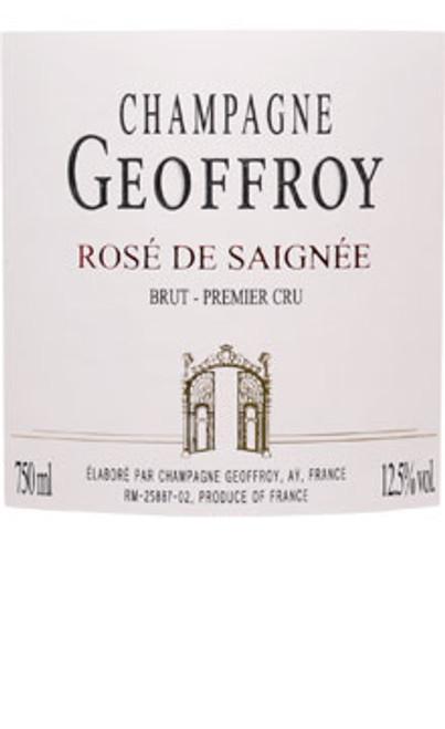 Geoffroy/René Brut Champagne Rosé de Saignée NV