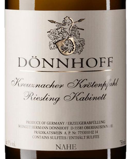 Dönnhoff Riesling Kabinett Kreuznacher Krötenpfuhl 2020