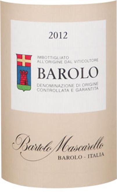 Mascarello/Bartolo Barolo 2012