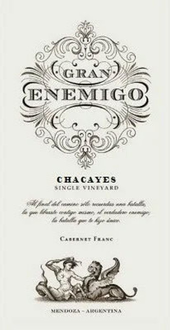 Aleanna Gran Enemigo Chacayes Single Vineyard 2016