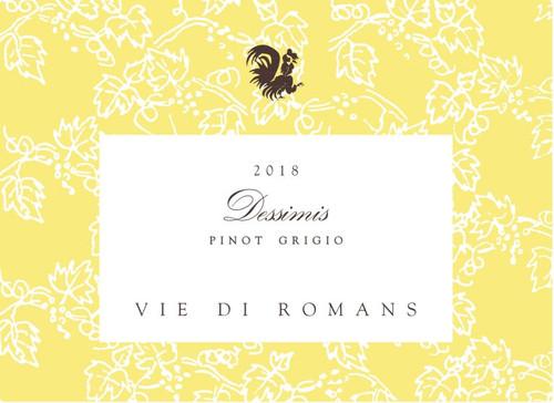 Vie di Romans Pinot Grigio Friuli Isonzo Dessimis 2018