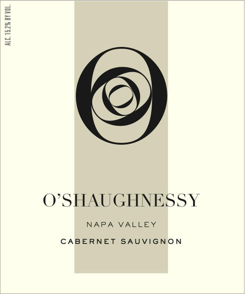 O'Shaughnessy Cabernet Sauvignon Napa Valley 2018