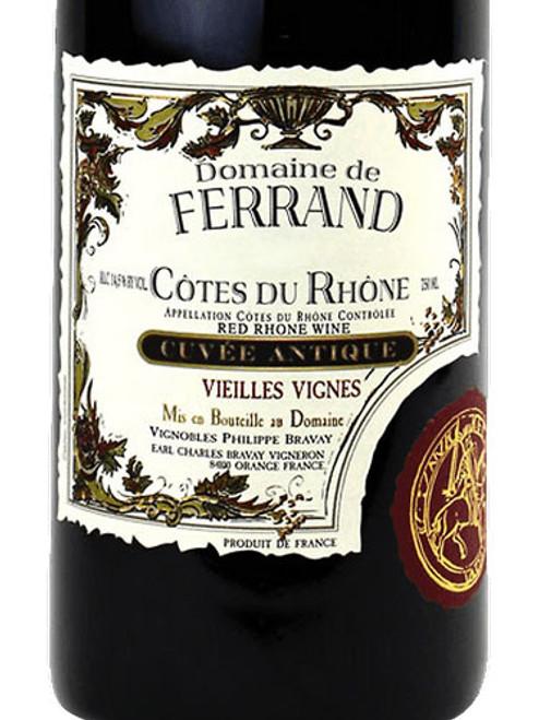 Ferrand Côtes-du-Rhône Vieilles Vignes Cuvée Antique 2018