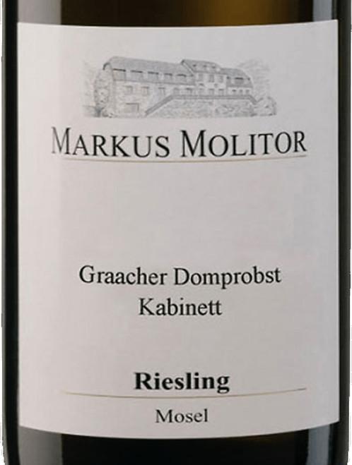 Molitor/Markus Riesling Kabinett Graacher Domprobst White Cap 2019