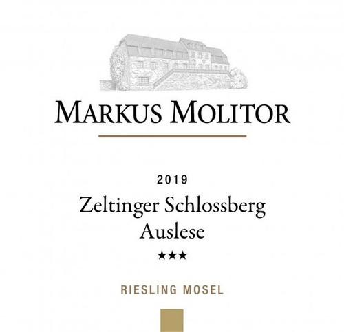 Molitor/Markus Riesling Auslese*** Zeltinger Schlossberg Gold Cap 2019