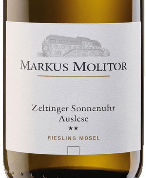 Molitor/Markus Riesling Auslese** Zeltinger Sonnenuhr Gold Cap 2019