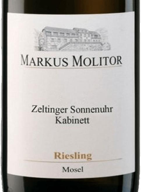 Molitor/Markus Riesling Kabinett Zeltinger Sonnenuhr Gold Cap 2019