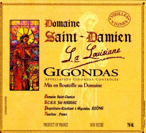 Saint-Damien Gigondas La Louisiane 2018