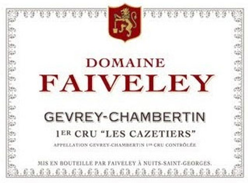 Faiveley Gevrey-Chambertin 1er cru Cazetiers 2012