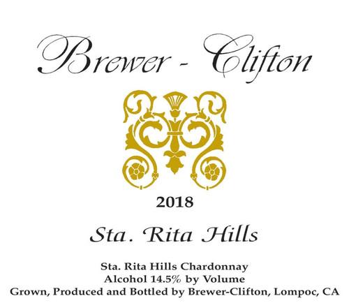 Brewer-Clifton Chardonnay Santa Rita Hills 2018