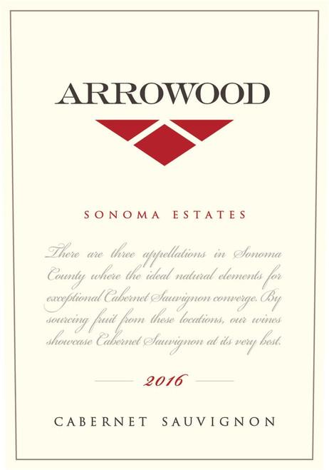 Arrowood Cabernet Sauvignon Sonoma Estates 2016