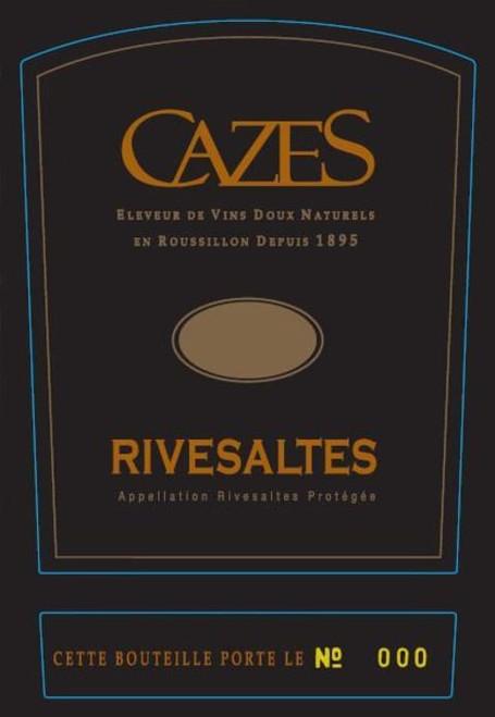 Cazes Rivesaltes 1958