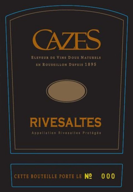 Cazes Rivesaltes 1959