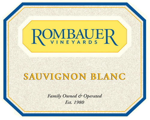 Rombauer Sauvignon Blanc Napa-Sonoma Counties 2020