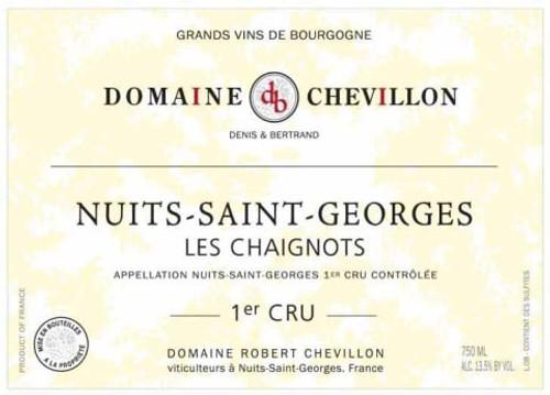 Chevillon Nuits-St-Georges 1er cru Les Chaignots 2019