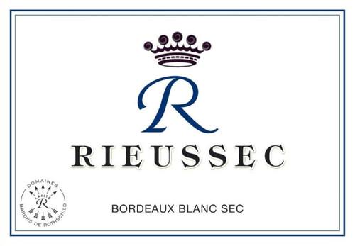 """Rieussec """"R"""" Bordeaux Blanc Sec 2018"""