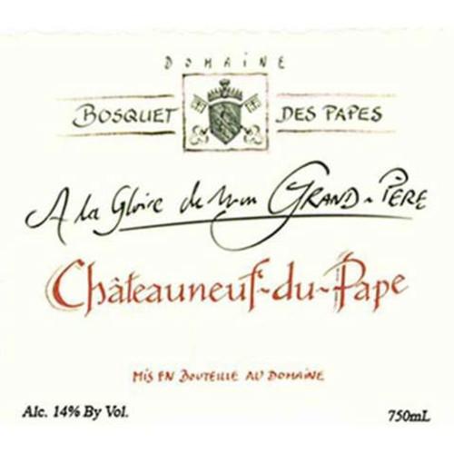 Bosquet des Papes Châteauneuf-du-Pape La Gloire Mon Grand-Père 2019