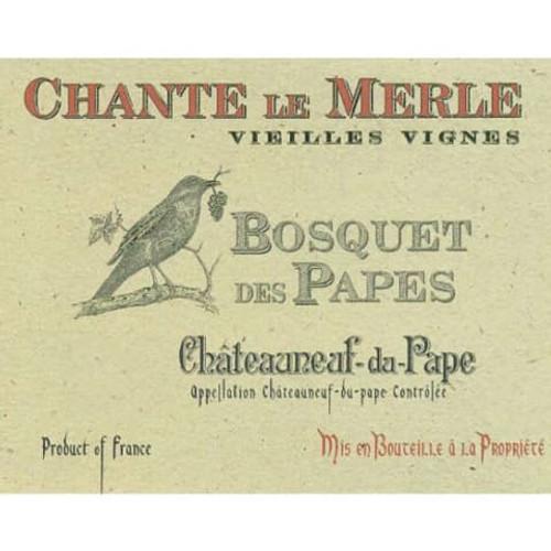 Bosquet des Papes Châteauneuf-du-Pape Chante le Merle VV 2019