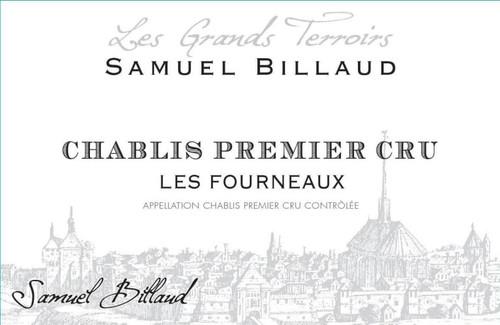 Billaud/Samuel Chablis 1er cru Les Fourneaux 2019