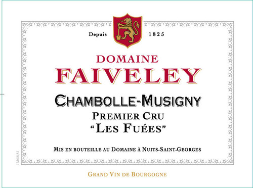 Faiveley Chambolle-Musigny 1er cru Les Fuées 2019
