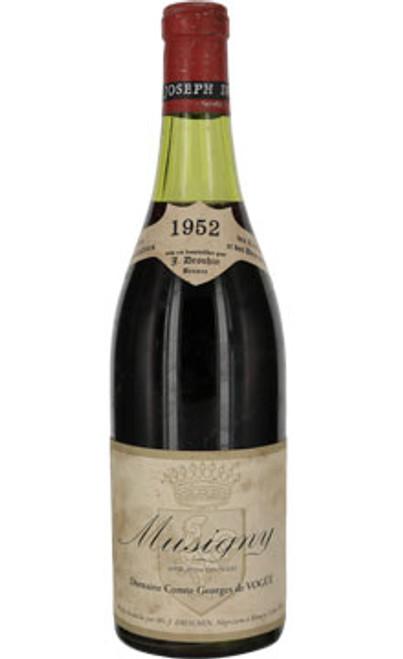 Vogüé Musigny (bottled by Drouhin) 1952