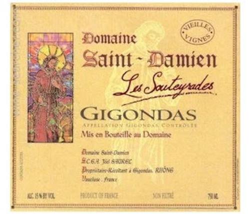 Saint-Damien Gigondas Les Souteyrades 2019