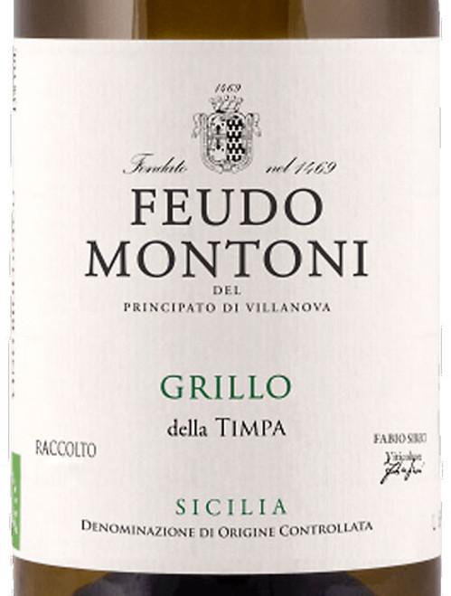 Feudo Montoni Grillo Timpa Sicilia 2018