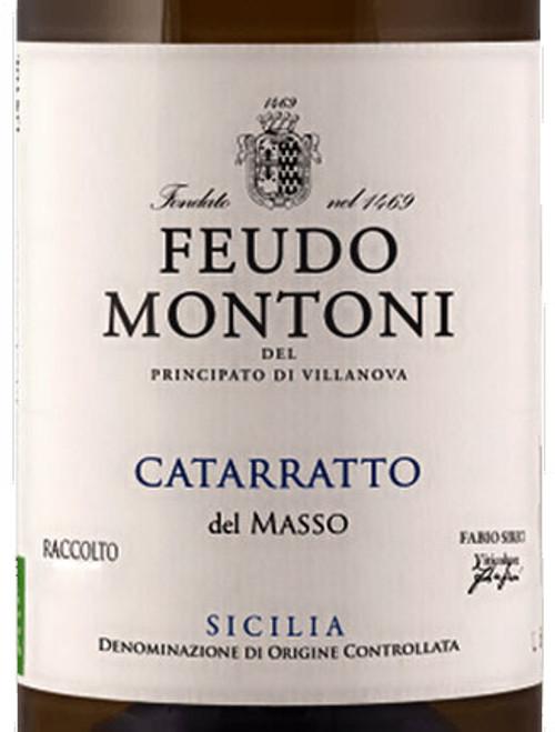 Feudo Montoni Catarratto Masso Sicilia 2018