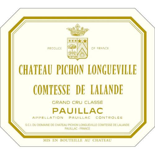 Pichon-Longueville Comtesse de Lalande Pauillac 2010