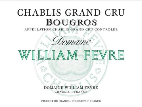 Fèvre Chablis Grand Cru Bougros 2019