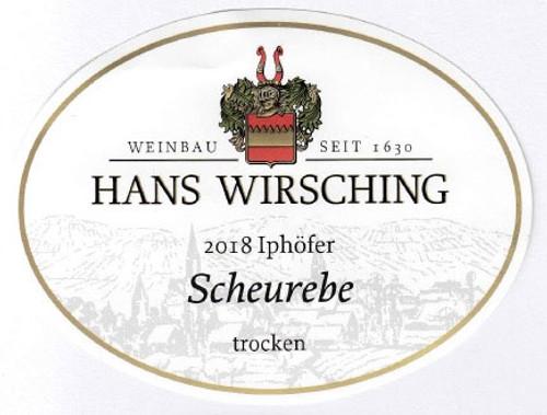 Wirsching Iphöfer Scheurebe Trocken 2018