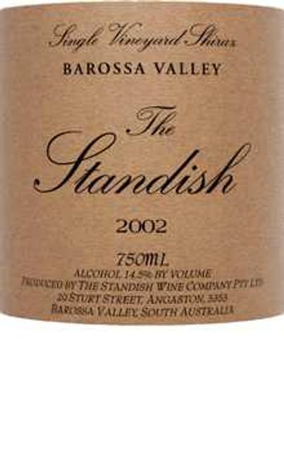 Standish Shiraz Barossa Valley The Standish 2002