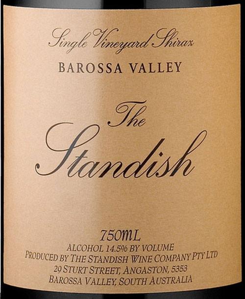 Standish Shiraz Barossa Valley The Standish 2006