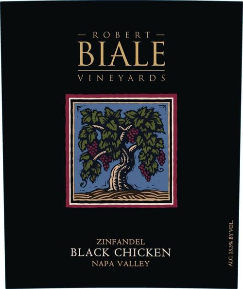 Biale Zinfandel Napa Valley Black Chicken 2019