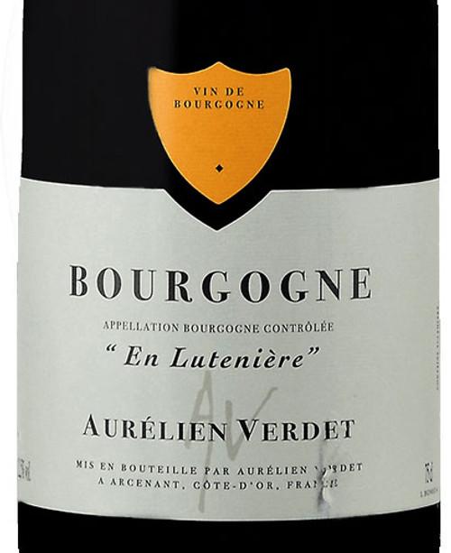 Verdet/Aurélien Bourgogne Rouge En Lutenière 2019