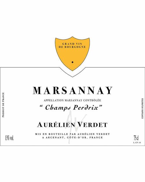Verdet/Aurélien Marsannay Champs Perdrix 2019