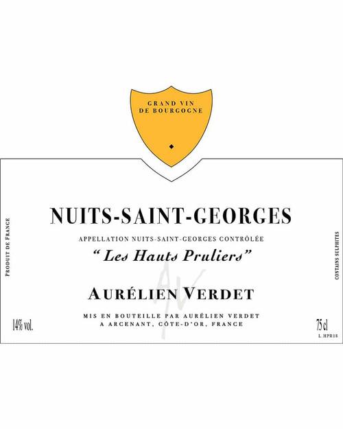 Verdet/Aurélien Nuits-St-Georges Les Hauts Pruliers 2019