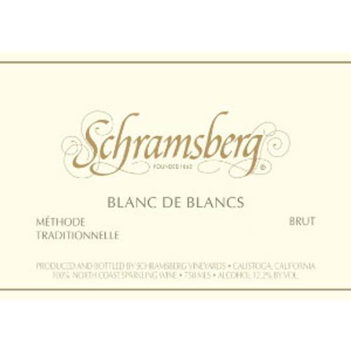 Schramsberg Brut Blanc de Blancs North Coast 2018