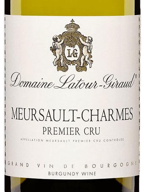 Latour-Giraud Meursault 1er cru Charmes 2019