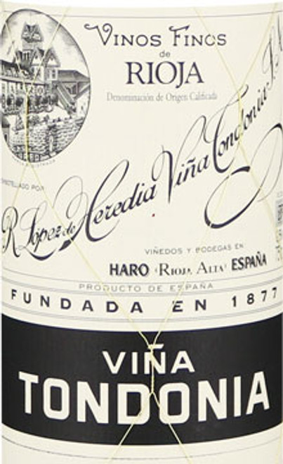 López de Heredia Rioja Viña Tondonia Gran Reserva 1995