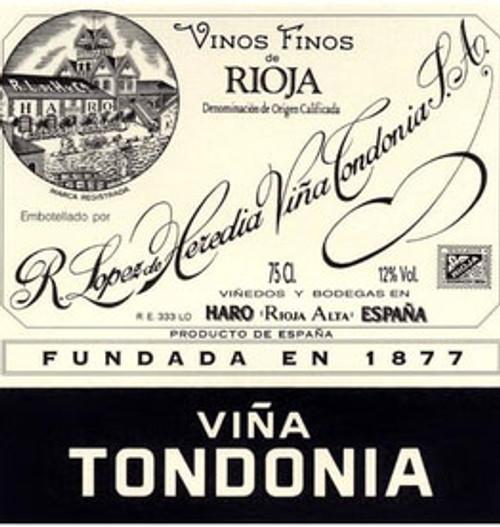 López de Heredia Rioja Viña Tondonia Gran Reserva 2001