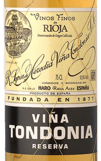 López de Heredia Rioja Viña Tondonia Blanco Reserva 2009