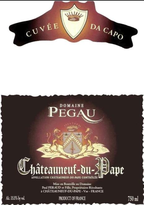 Pégaü Châteauneuf-du-Pape Cuvée da Capo 2016 1.5L