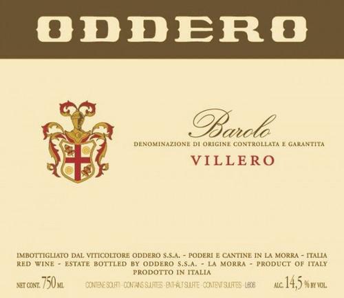 Oddero Barolo Villero 2017