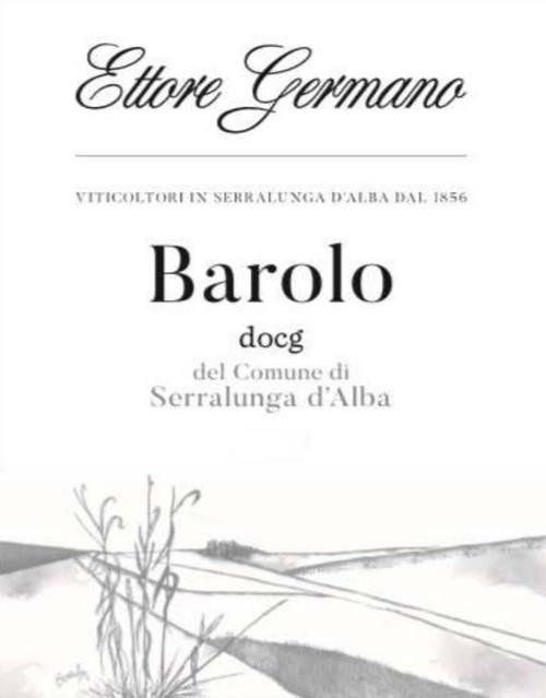 Germano/Ettore Barolo del Comune di Serralunga d'Alba 2017