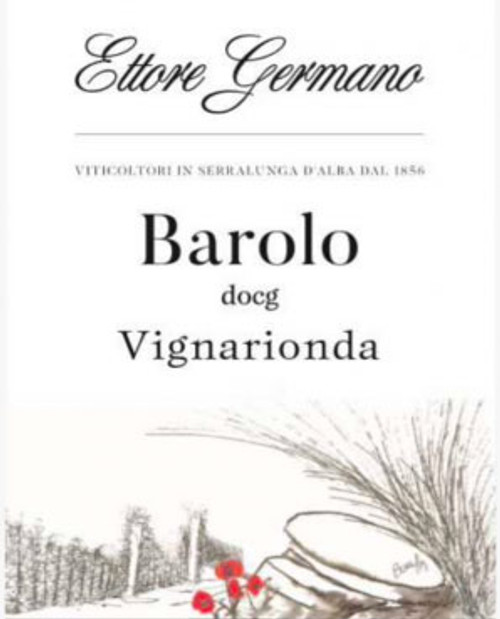 Germano/Ettore Barolo Vignarionda 2016
