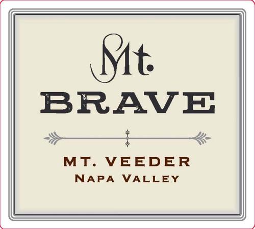Mt. Brave Merlot Napa Valley Mt. Veeder 2016