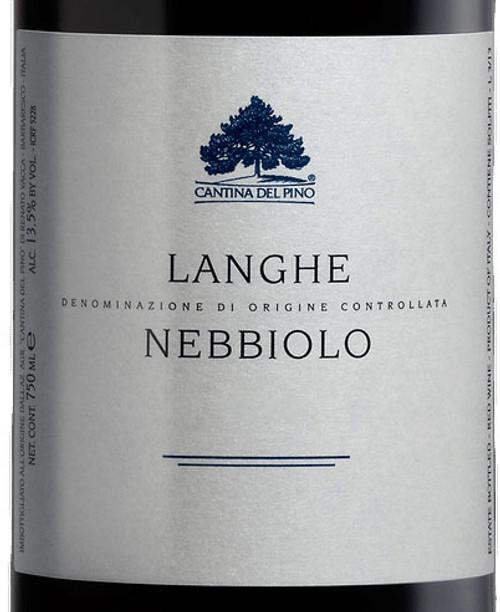 Cantina del Pino Langhe Nebbiolo 2019