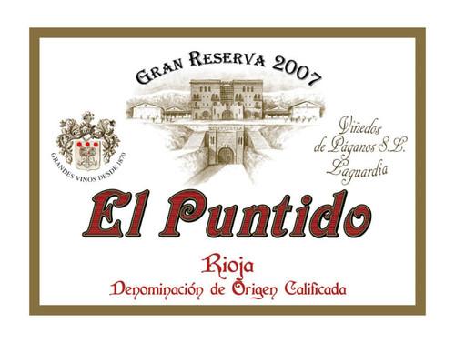 Viñedos de Páganos Rioja El Puntido Gran Reserva 2007