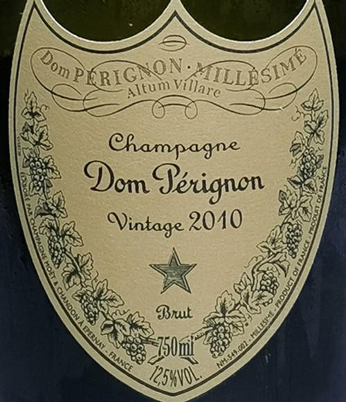 Moët & Chandon Brut Champagne Cuvée Dom Pérignon 2010